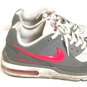 NIKE Air Max Wright 3 Gray Red White Men's 10